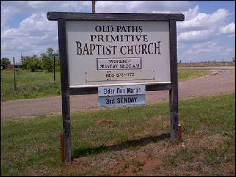 Old Paths Primitive Baptist Church